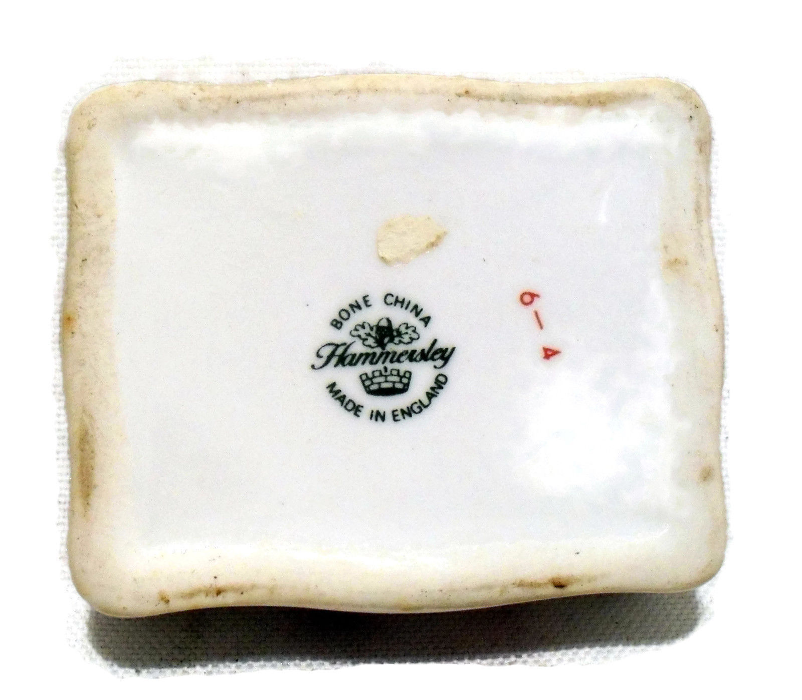 Hammersley Vintage Bone China Trinket Box made in England