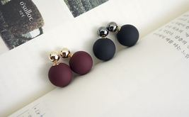 Front and Back ball and metal ball ear jacket, ... - $15.00
