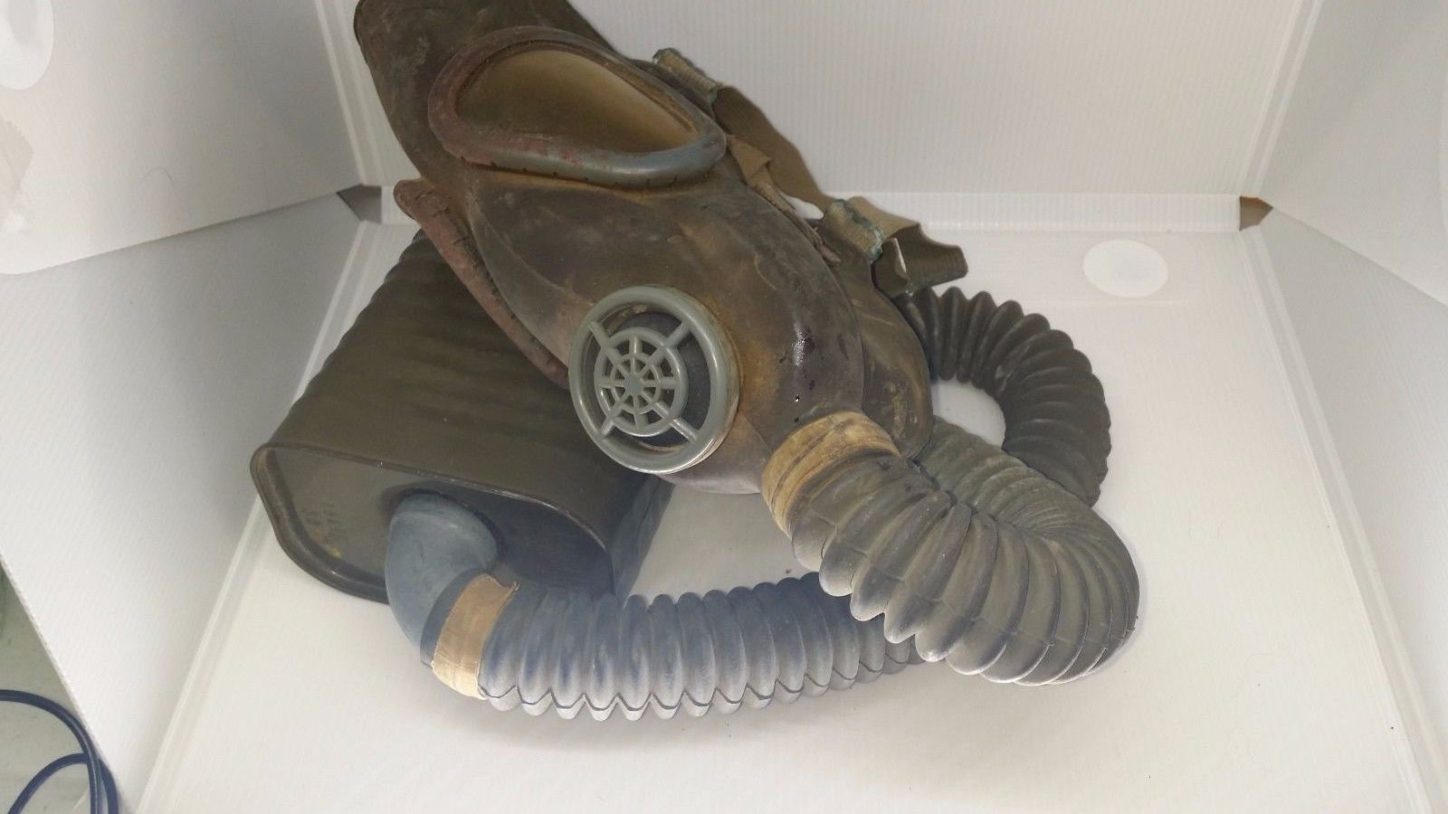 Vintage US Army Gas Mask