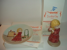 1980 Dorothys Day Bill Mack 1st Issue Brand New Day Plate Figurine w Box... - $34.99