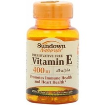 Sundown Naturals Vitamin E 400 IU Softgels - $10.19