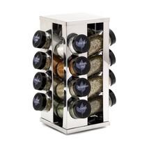 Kamenstein Heritage 16-Jar Revolving Countertop Spice Rack with Free Spi... - $38.97