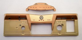 Plastic Face Covers from RCA VICTOR 8-TR-3 Reel to Reel Tape Player/Reco... - $18.97
