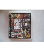 Grand Theft Auto IV 4 COMPLETE w/ MAP NRMT Sony Playstation 3 PS3 - $11.57