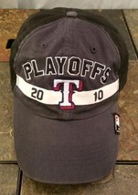 Texas Rangers MLB 2010 Playoffs Postseason Gray Adjustable Baseball Hat ... - $9.16