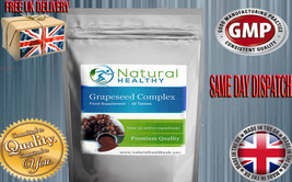 60 GRAPESEED COMPLEX- HAIR CARE VITAMINS - HIGH STRENGTH NATURAL HEALTHY... - $8.17