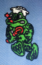 Underwater Demolition Team Udt Frogmen Freddie The Frog Embroidered Polo Shirt - $29.95+