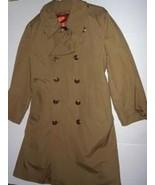 Pre-owned VTG T HARBOR MASTER Men's Tan Trench Coat Size 40 - $78.21