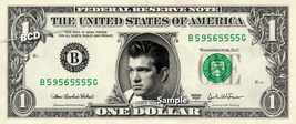 CHRIS ISAAK on REAL Dollar Bill Cash Money Bank Note Currency Dinero Cel... - $7.77