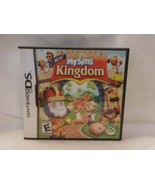 MySims Kingdom (Nintendo DS, 2008) Lite Dsi xl 3ds xl COMPLETE & TESTED!... - $8.01