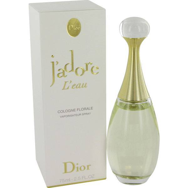 Christian Dior J'adore L'eau 2.5 Oz Cologne Florale Spray