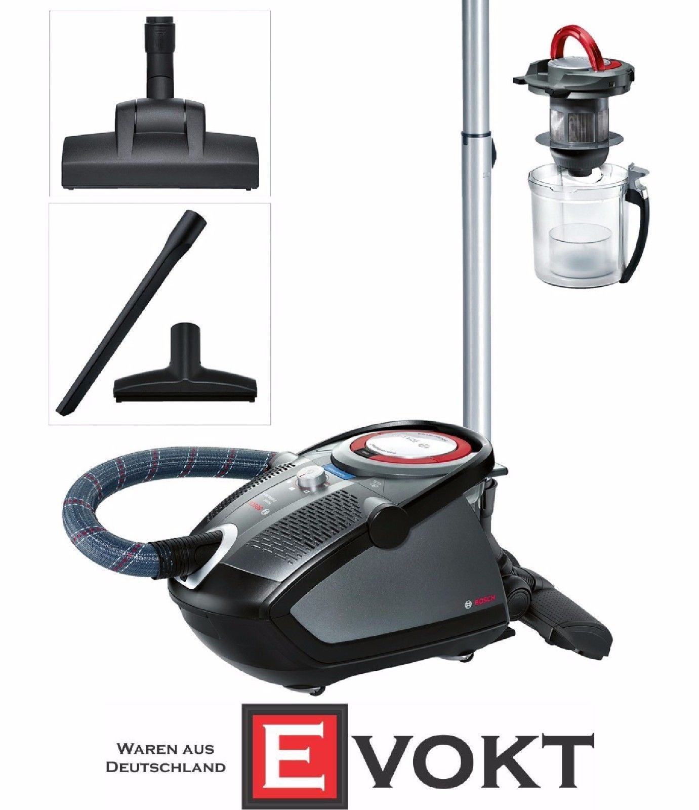 bosch bgs6pro4 roxx 39 x home professional vacuum cleaner. Black Bedroom Furniture Sets. Home Design Ideas