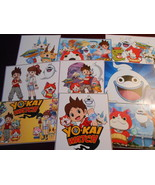 9 Yo-Kai Watch inspired Stickers, Birthday party favors, labels, decals,... - $8.99