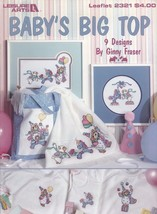 Baby's Big Top, Leisure Arts Cross Stitch Pattern 2321 Baby Room Decor &... - $3.95