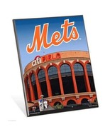 "MLB New York Mets Stadium Premium 8"" x 10"" Solid Wood Easel Sign - $9.95"