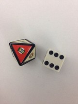 Jumanji Game Pieces 1 Rescue Dice and 1 Number Die Replacement Parts Only - $9.80
