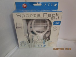 CTA Sports Pack 6 in 1 for Wii Accessory Pack Wii NEW Motion Plus Compat... - $14.89