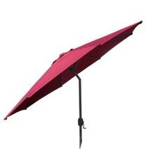 Best Choice Patio Tilt Umbrella 9' Aluminum Red Outdoor Market Umbrella ... - $78.70
