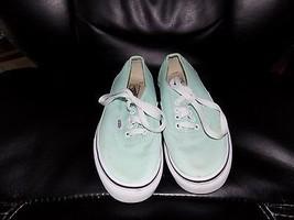 Vans Mint Color Casual Shoes Size 1 Girl's  - $49.99