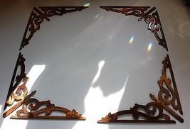 "Scroll Corners style 2 V Shaped 3""  Metal Wall Decor - $19.79"