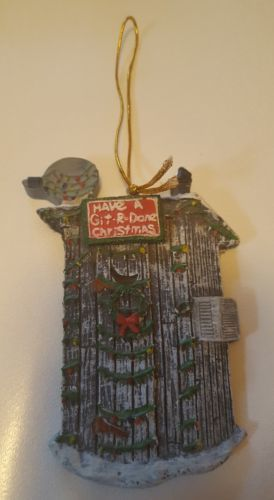 "Larry the Cable Guy ""have a git r done christmas"" ornament"