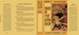 Ernest Hemingway DEATH IN THE AFTERNOON facsimi... - $22.77
