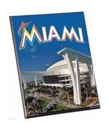 "MLB Miami Marlins Stadium Premium 8"" x 10"" Solid Wood Easel Sign - $9.95"