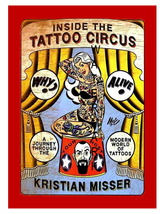 Tattoo Circus 13 x 10 inch Advertising Kristian Misser Giclee CANVAS  Print - $19.95