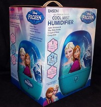 Disney Frozen Anna Elsa 1 Gallon Anti Microbial Cool Mist Ultrasonic Humidifier - $29.99