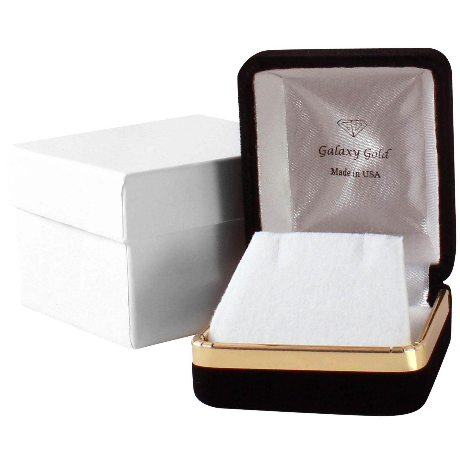 Brand New 0.11 CTW 14K White Gold Ruby Natural Diamond Ring