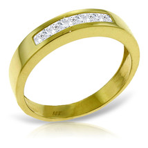 Brand New 0.6 Carat 14K Solid Gold Surprise Thrives Here White Topaz Ring - £231.50 GBP