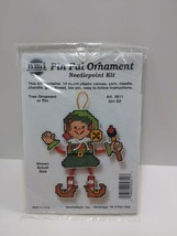 NMI Pin Pal Ornament Needlepoint Kit Christmas Girl Elf 5611 - $11.75