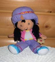 """Strawberry Shortcake Plush Ginger Snap 13"""" Holds Cookie - $7.95"""