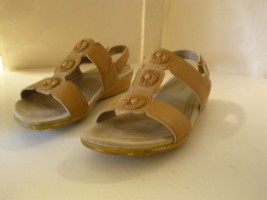 Easy Spirit Heartbeat Brown New 8 M Open Toe Ankle Buckle Sandal - $27.69