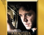 A Beautiful Mind Russell Crowe DVD Movie conspiracy Two 2 Discs