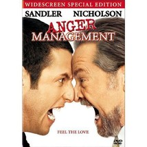 ANGER MANAGEMENT ADAM SANDLER Jack Nicholson Movie DVD  - $6.79