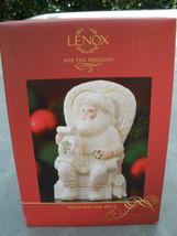 Lenox For the Holidays Naughty or Nice Santa Ch... - $18.48