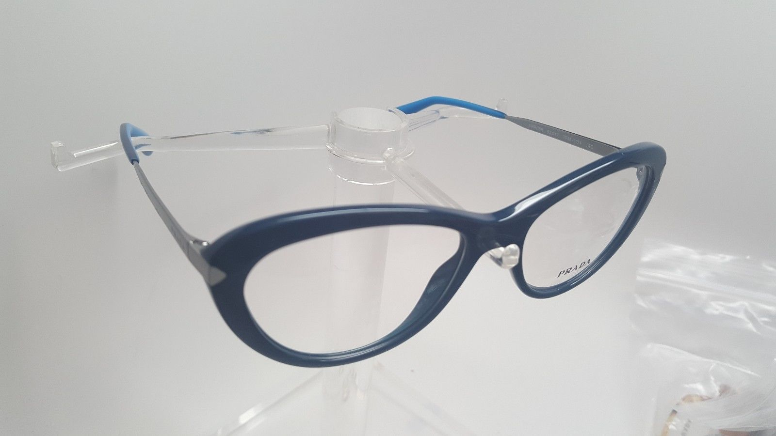 Royal Blue Glasses Frames : NEW PRADA VPR 08R TFM-101 ROYAL BLUE EYEGLASSES AUTHENTIC ...