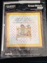 New Vtg 1985 Unopened Janlynn Counted Cross Stitch Kit Grandmothers Work FR SHP - $15.78