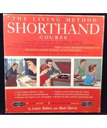 Vtg Living Method Shorthand Course 4 LP Records & Book II Missing Book I... - $12.81
