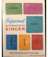 Vtg 1973 Singer Professional Buttonholer for Slant Needle or Touch & Sew... - $24.69