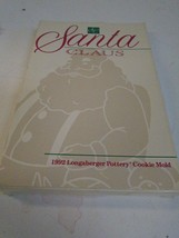 Longaberger Pottery Santa Claus Series Cookie M... - $21.21
