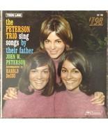 Peterson Trio Sing Songs Father John Harold DeCou LP Records Vinyl Album... - £20.07 GBP