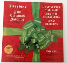 Firestone Your Christmas Favorites Vol 7 LP Records Vinyl Album CSLP 7015 - $23.22