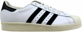 [G61070] Men's Adidas Superstar 80s White/Black-Chalk Size 5 - $60.00