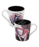 Marvels Spider-Gwen Image Two-Sided 12 oz Ceramic Mug NEW UNUSED Spider-Man - $11.64