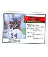 Walter Payton football card 1983 Topps #28 (Chicago Bears) - $4.00