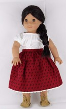 Pleasant Company doll Josefine American girls doll clothes and shoes 18 Inches - $88.46