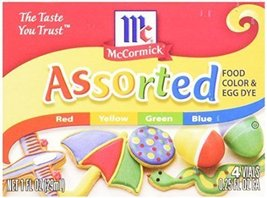 McCormick Assorted Food Color, 1 fl oz - $8.85