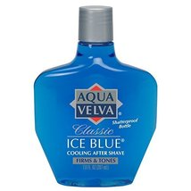 Aqua Velva After Shave, Classic Ice Blue, 7 Ounce - $19.93